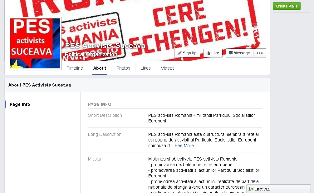 PES Activists Suceava