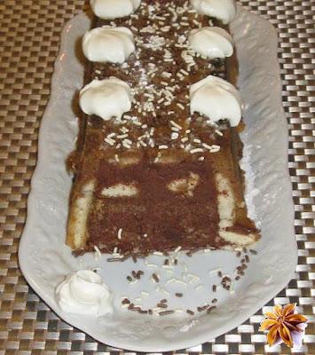 La charlotte au chocolat - recette indexée dans la rubrique Desserts