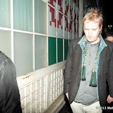 WWW.ENTSIMAGES.COM -  Rhys Ifans arriving at Uncle Vanya last night performance at Vaudiville Theatre London January 26th 2013                                                        Photo Mobis Photos/OIC 0203 174 1069