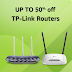 50% off on TP-Link Routers