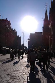 The sun got a wee bit closer that day