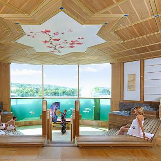 Thermen badewelt sinsheim google for Koi pool and sauna