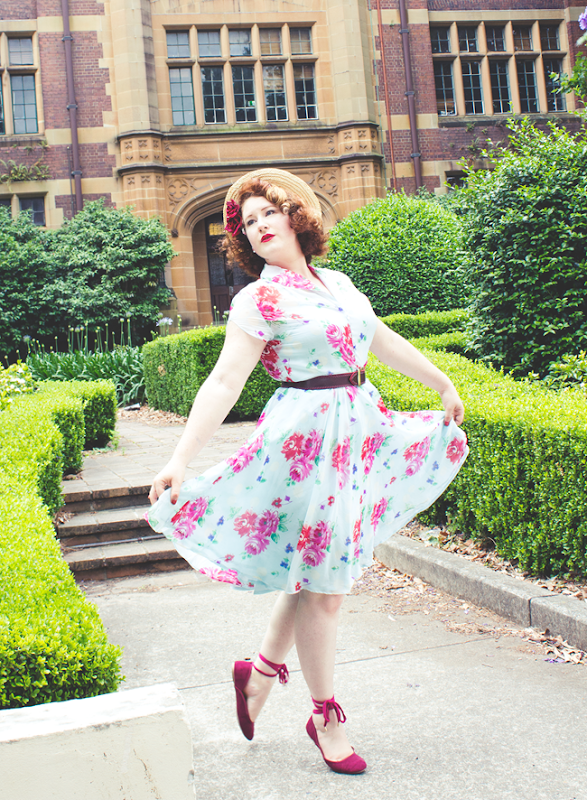 Hell Bunny Dress - Vintage Inspired Style | Lavender & Twill