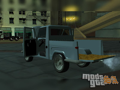Ford Willys F-75 Camionete para GTA San Andreas