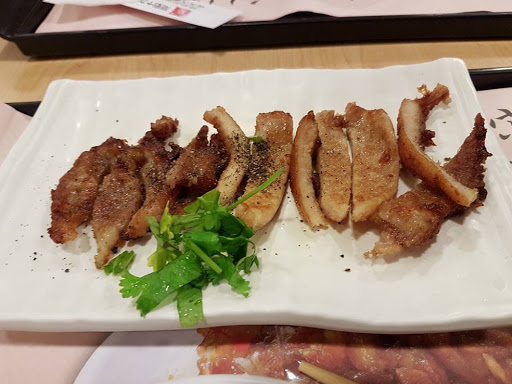 Pork chop from Formosa Chang at Taoyuan International Airport