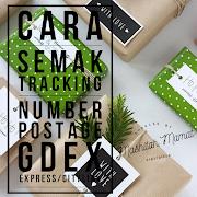 Cara Semak Consignment Number & Track Parcel Gdex Express atau Citylink daripada Shaklee Malaysia