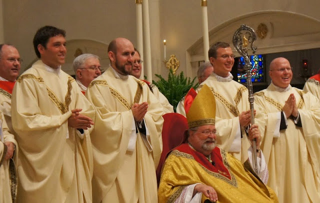 The Newly Ordained Priests