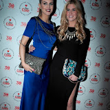 WWW.ENTSIMAGES.COM -  Ashley James and Francesca Hull  arriving at    Diet Coke Private Party  a Sketch Conduit Street  London January 30th 2013                                                    Photo Mobis Photos/OIC 0203 174 1069