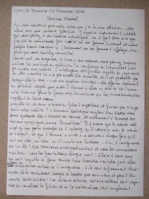 De profundis, lettre des abysses