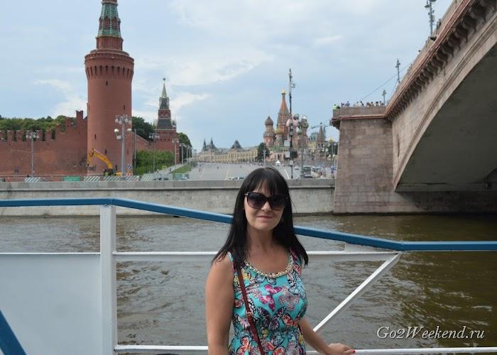 прогулка по Москве реке