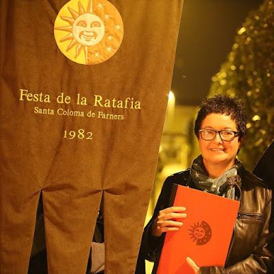Josefina Gacía, premi a la millor ratafia local