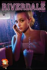 Actualización 08/06/2018: Chica Flash comparte con nosotros desde su blog el número #8 de Riverdale. Continúan las aventuras en cómic del universo televisivo de Archie, mas misterios y cosas de adolescentes.