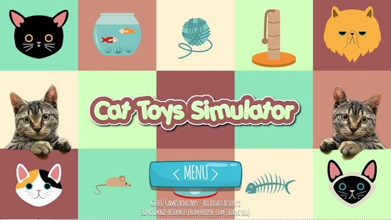 Cat Toys Simulator - Brinquedos e jogos para gatos - náhled