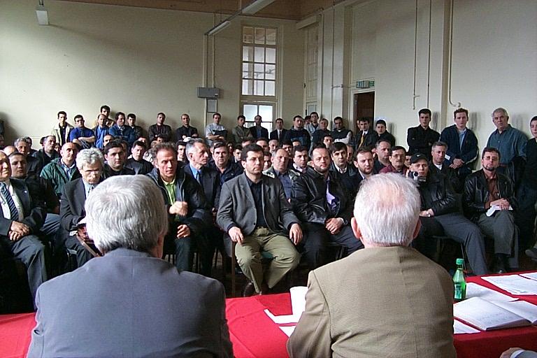 Takim me pjesetare te komunitetit shqiptar ne Mbreterine e Bashkuar