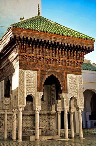 Qarawiyin Mosque, Fez.