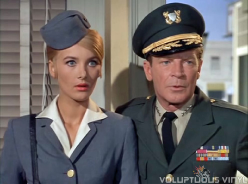 Barbara Bouchet in an episode of Voyage to the Bottom of the Sea