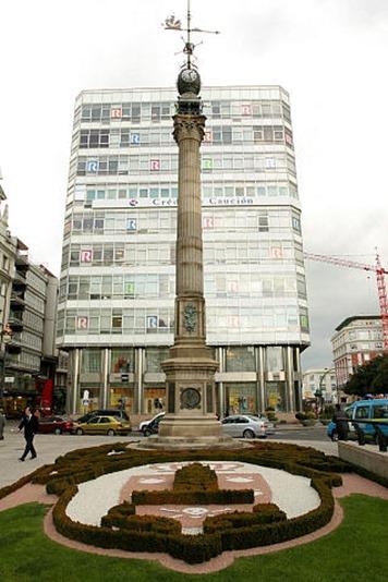Obelisco en el Cantón Grande
