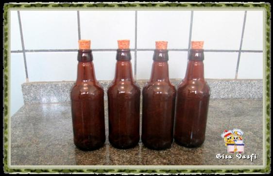 Esterelizando garrafas de cerveja 1