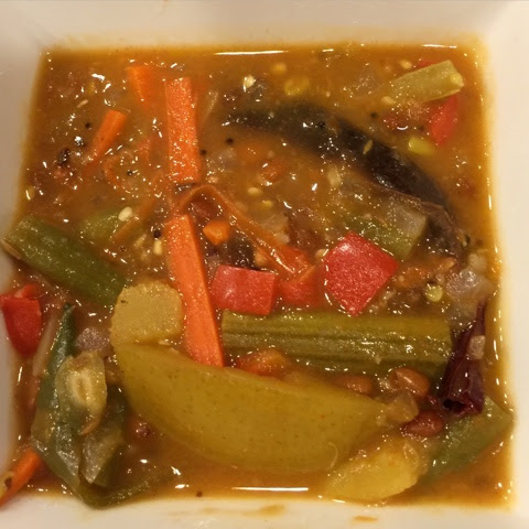 My Cooking Journal...: Vegetable Mandi - Chettinad Special (Vegetable Stew in Spicy, Tangy Tamarind Base)