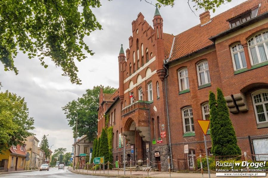 Braniewo - budynek Urzędu Gminy