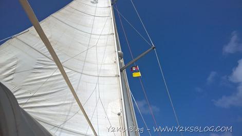 Arrivati a Falmouth, pronti per la custom - Antigua