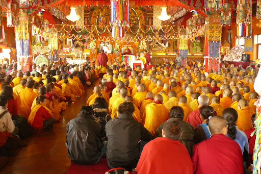 Long Life Puja, Kopan Monastery, December 2008.