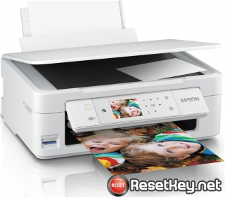 Reset Epson XP-445 ink pads are at the end of their service life