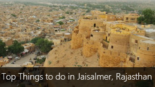 Top 12 Things to do in Jaisalmer, Rajasthan