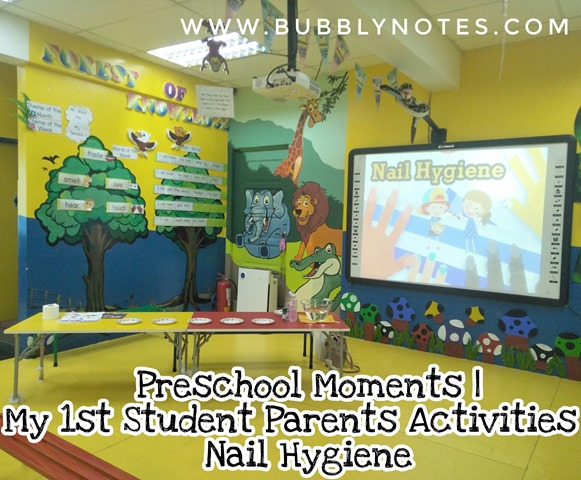 Preschool Moments My 1st Student Parents Activities Nail Hygiene (6)