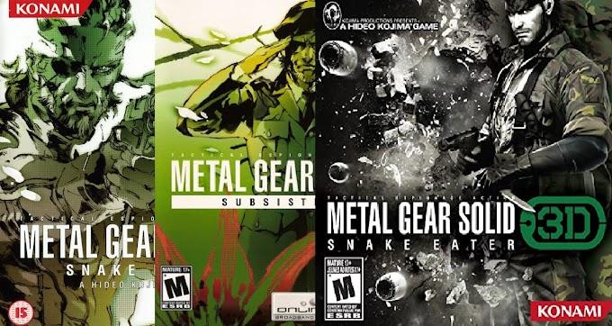AnáliseMorte: Metal Gear Solid 3 - Snake Eater