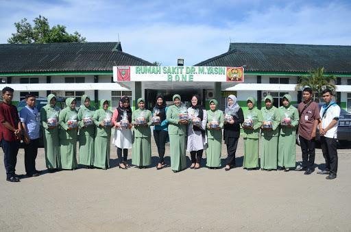 Personel Kodim 1407/Bone Bersama Istrinya Kerjasama Bank Hasa Mitra Laksanakan Anjangsana