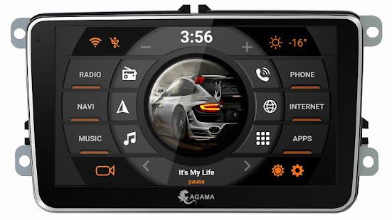 App Car Launcher AGAMA APK for Windows Phone