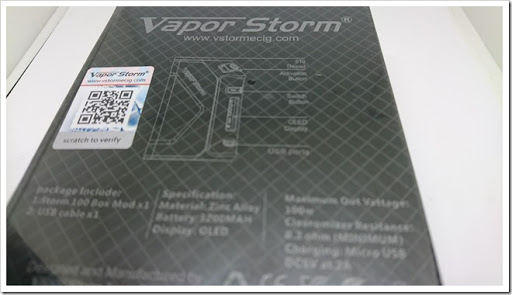 DSC 0892 thumb%25255B2%25255D - 【MOD】DNA?「VAPORSTORM Storm 100 VW/TC MODレビュー」DNAっぽい液晶が特徴【平凡ながら堅実エルゴノミクスデザイン】