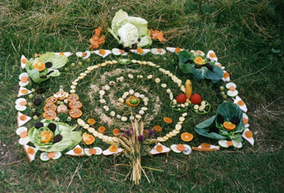 Lammas Altar, Celtic And Druids