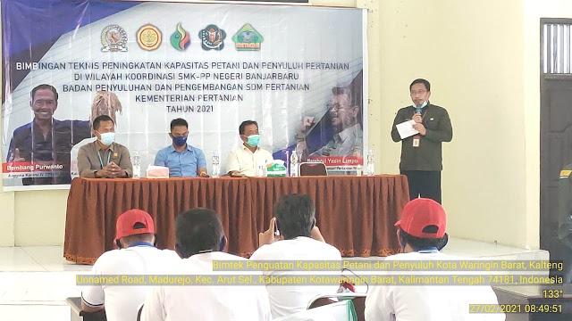 Bimtek Peningkatan Kapasitas Bagi Petani dan Penyuluh Digelar di Kobar
