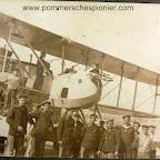 Torpedo bomber seaplane Gotha WD.11 in the Hydro-Airplane Station in Zeebrugge
