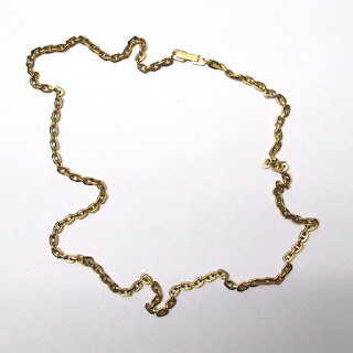 """18K Gold 24"""" Chain Necklace"""