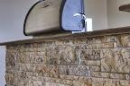 Buff Grey Strata Wall Stone