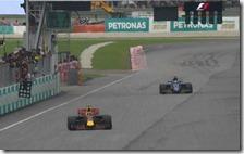 Max Verstappen ha vinto il gran premio della Malesia 2017