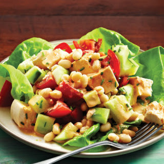 Chicken BLT (Bean, Lettuce & Tomato) with Smoky Tomato Dressing