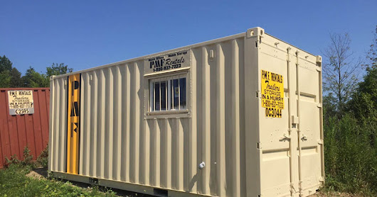 PMF Rentals 20' Ground Level Office Units