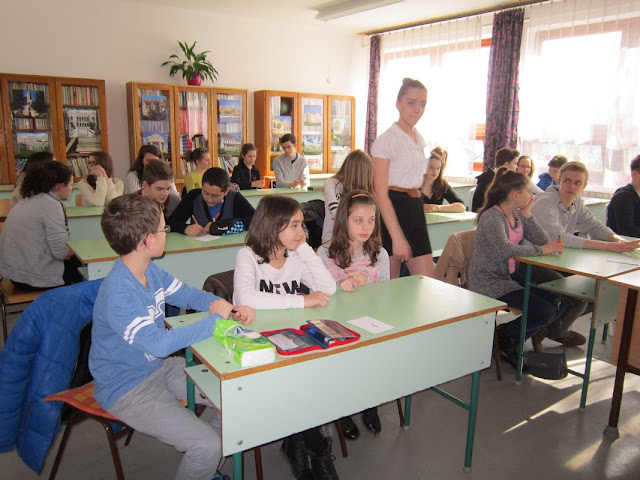 Angol nyelvi játékok az acsai Petőfi Sándor Általános Iskolában - Petőfi napok - 2016.03.09.