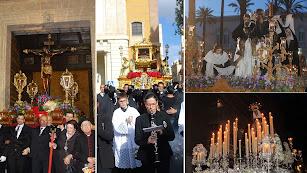 La Escucha, Sepulcro, Caridad y Soledad en el Viernes Santo.