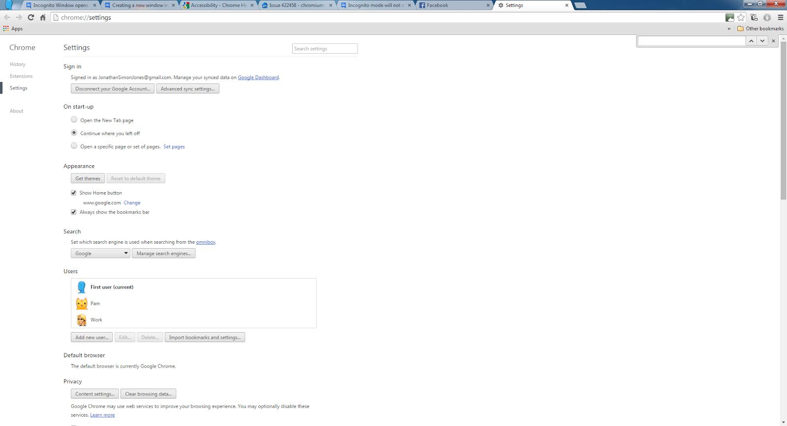 how to fix google chrome white screen