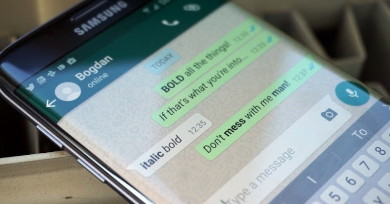 whatsapp bold italic and strikethrough styles