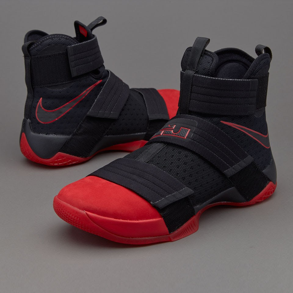 4135a1497b10 ... Detailed Look at LeBron Soldier 10 Ohio State aka Red Toe