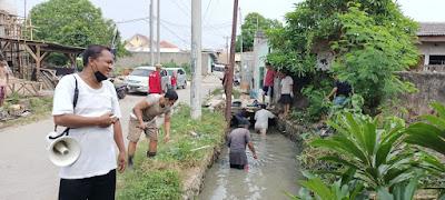 Pemerintah Desa Cikarang Kota Gelar Program Padat Karya Tunai Pengolahan Lingkungan Hidup
