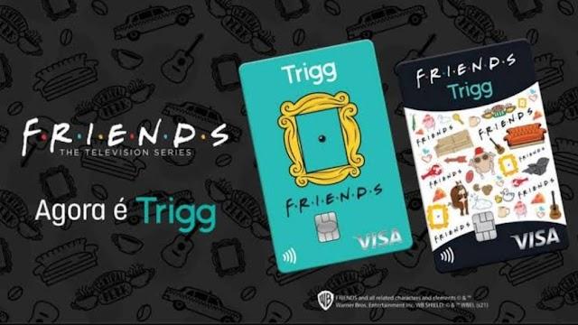 Trigg lança cartão de crédito de Friends que vem com mimo grátis