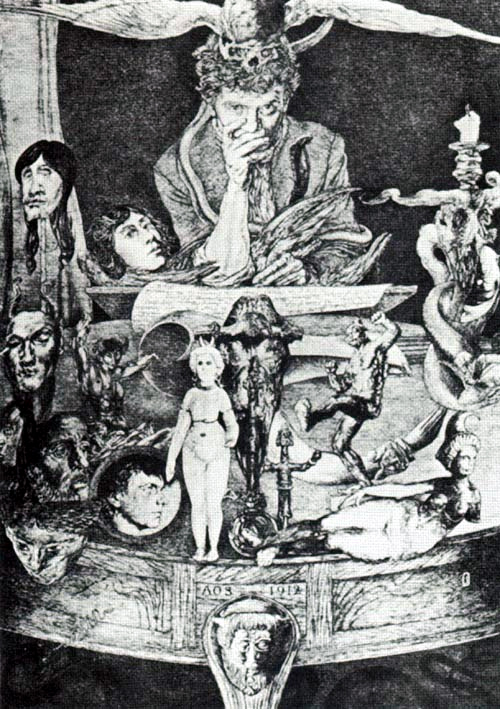 Occultist Artist All Around Neat Fella, Austin Osman Spare
