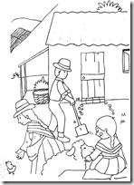 Perú, sierra, animales, dibujos para niños